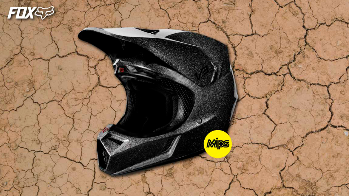Casco FOX V3 BAZ