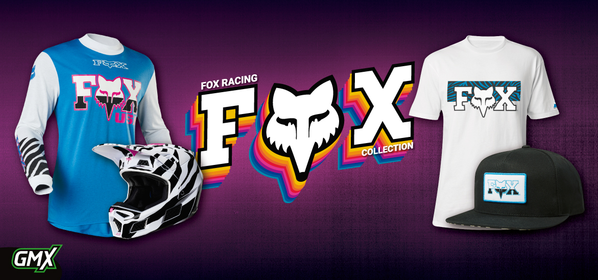 FOX RAcing Zebra Collection