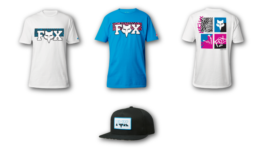 Ropa Casual FOX Racing Zebra Collection
