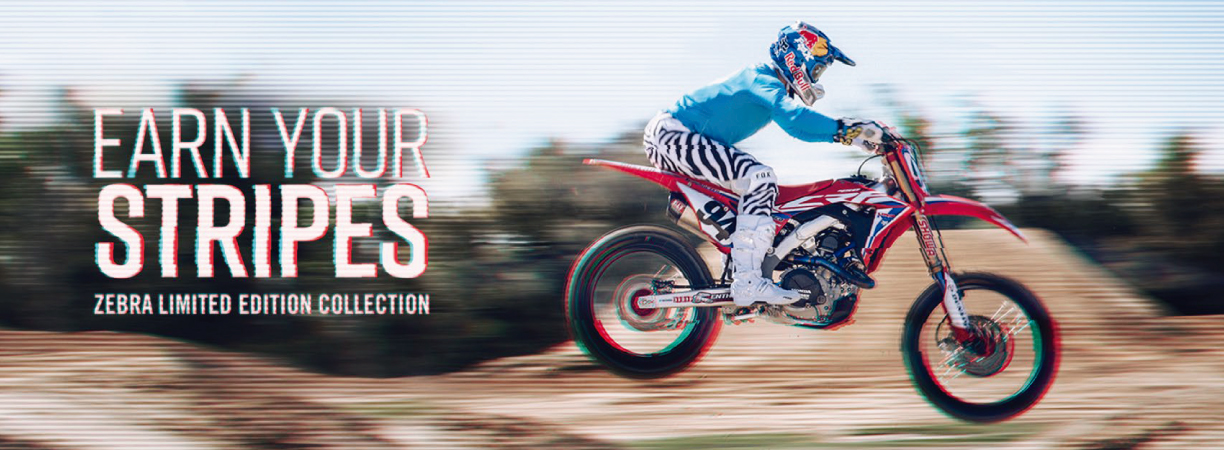 FOX Racing Zebra Collection Promo