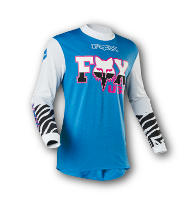 Jersey FOX Racing Zebra Collection